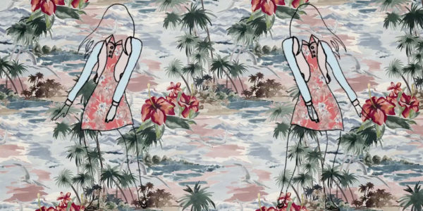 Valentino – Hawaiian Couture