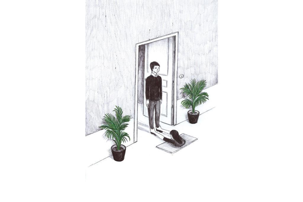 doormat woman