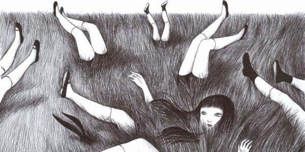campo di gambe