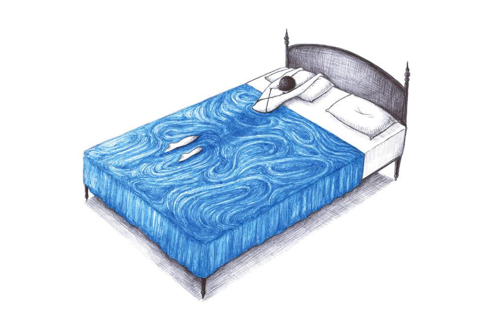 letto piscina
